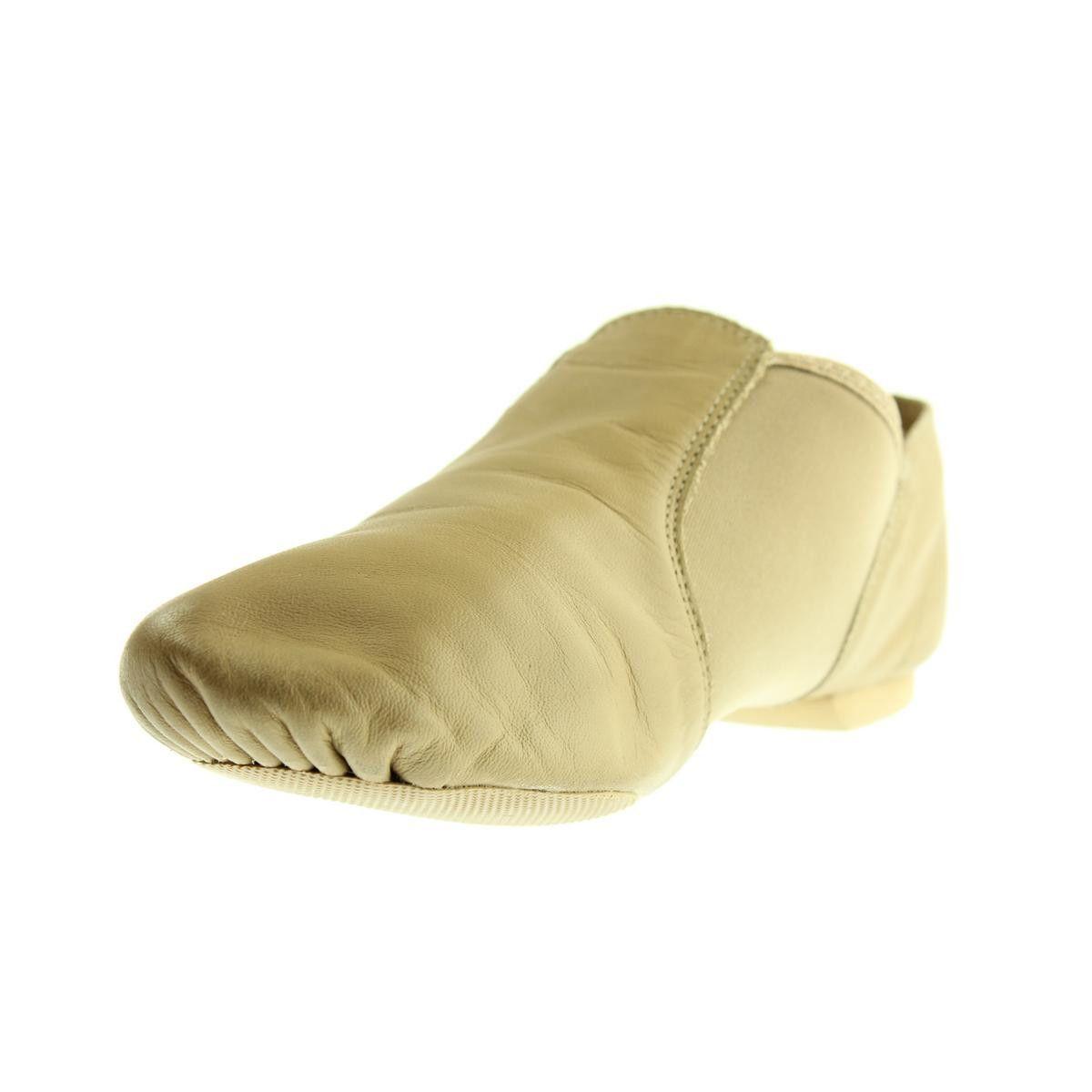 Capezio Womens E Series Leather Split Sole Jazz Shoes