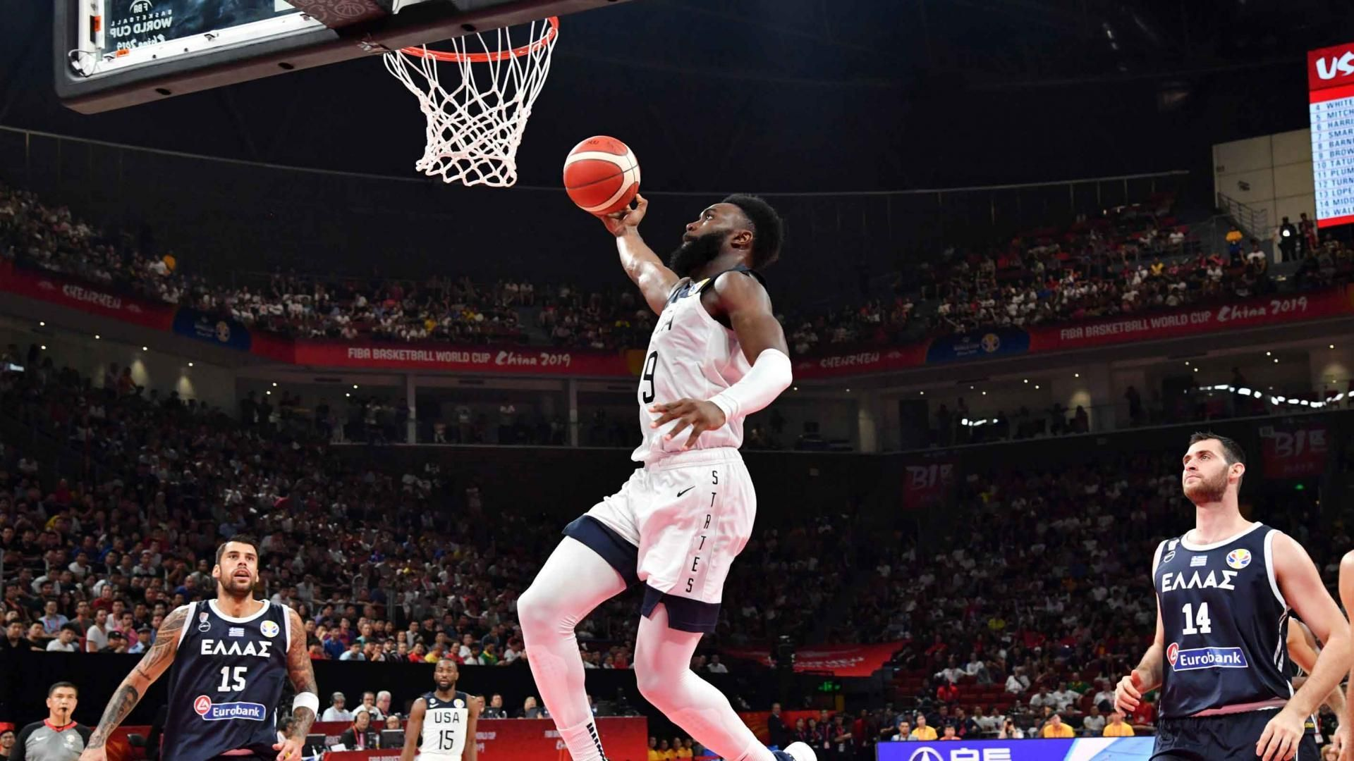 Basketball world cup USA v France QUARTERFINAL! LIVE
