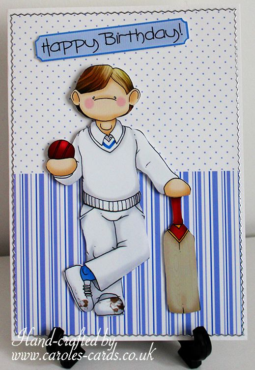 Cricket Doodle Cricketing Cricket Sport Topper Decoupage Bat Ball Male Birthday Kids Birthday Cards Kids Cards Birthday Cards For Boys