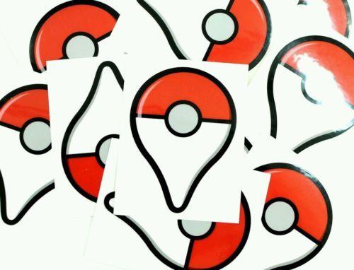 Details About Pokemon Go Pokeball Vinyl Sticker Decal