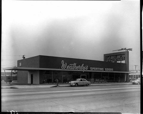 C 1963 Weatherby S Sporting Goods Firestone Blvd South Gate South Gate California South Gate California History
