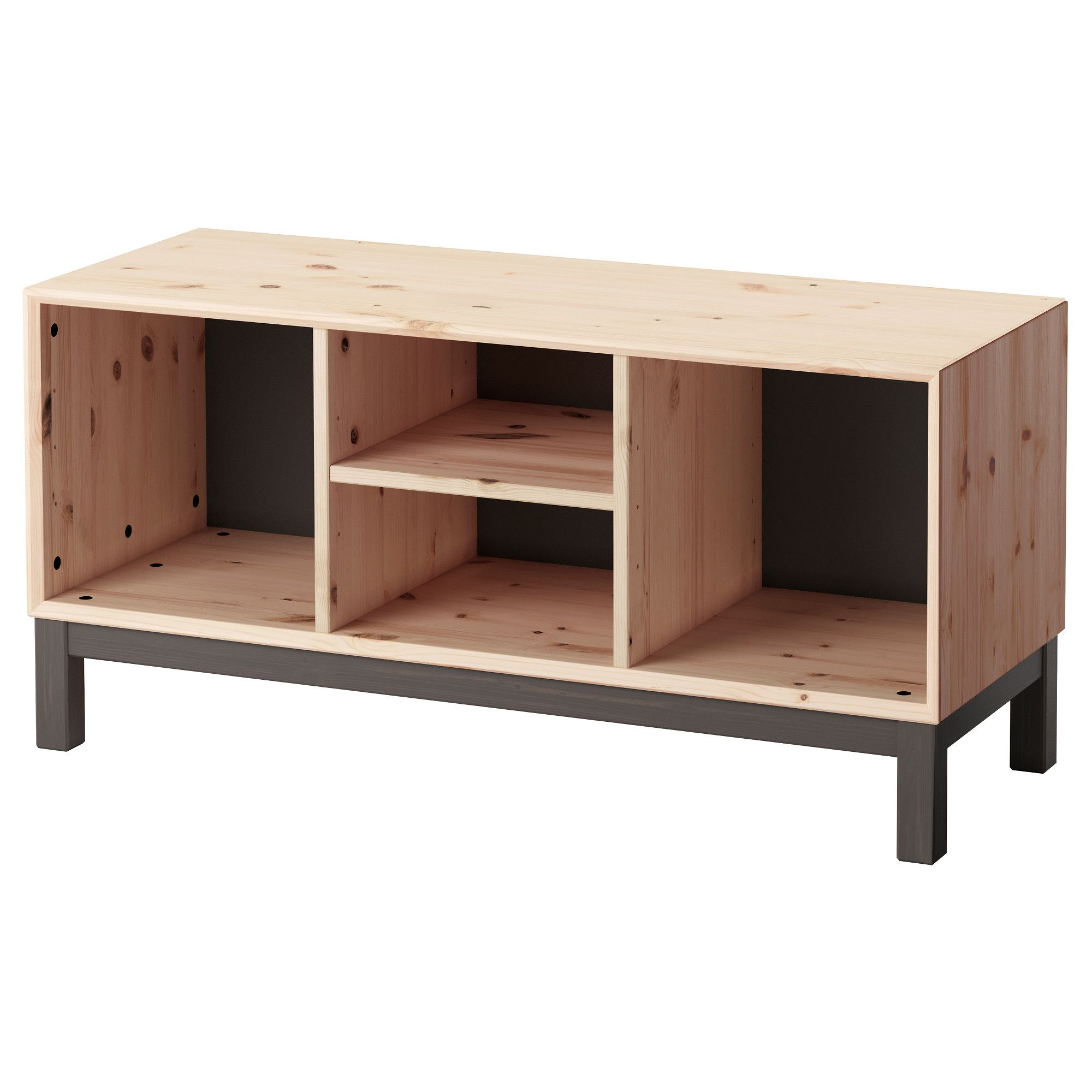 Amazing Ikea Nornas Bench With Storage Compartments Made Of Caraccident5 Cool Chair Designs And Ideas Caraccident5Info