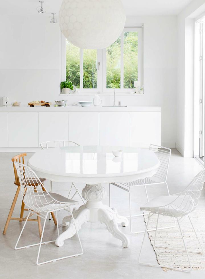 Mesas Redondas Para Cocinas | En Estado De Rachel Grandes Mesas Redondas Para La Cocina