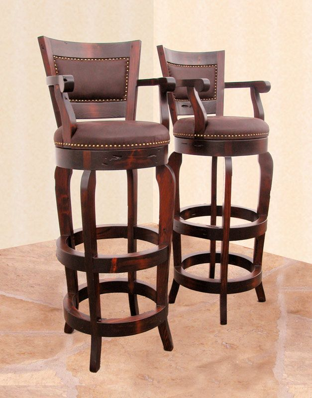 Picture Of Unique Barstools Colorize Your Cooking Corner With