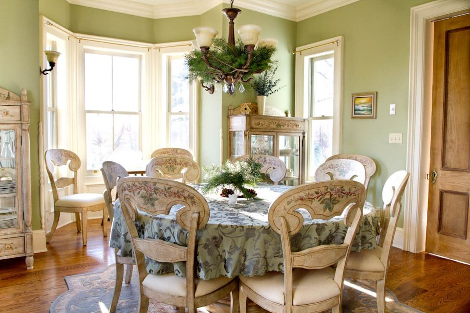 Green Dining Room The Paint Nothing, Victorian Dining Room Paint Colors