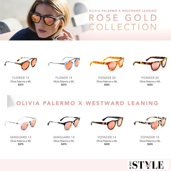 f3186ed834e Olivia Palermo Westward Leaning Rose Gold Collection