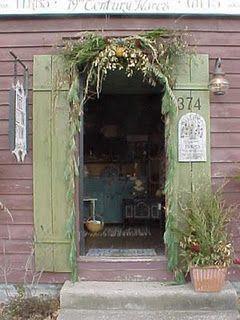 Door ways are of big interest to me!  So inviting.
