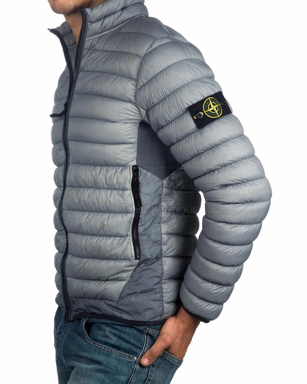 c2eabf44a6de Chaqueta STONE ISLAND ® Plumas Gris ✶ Garment Dyed
