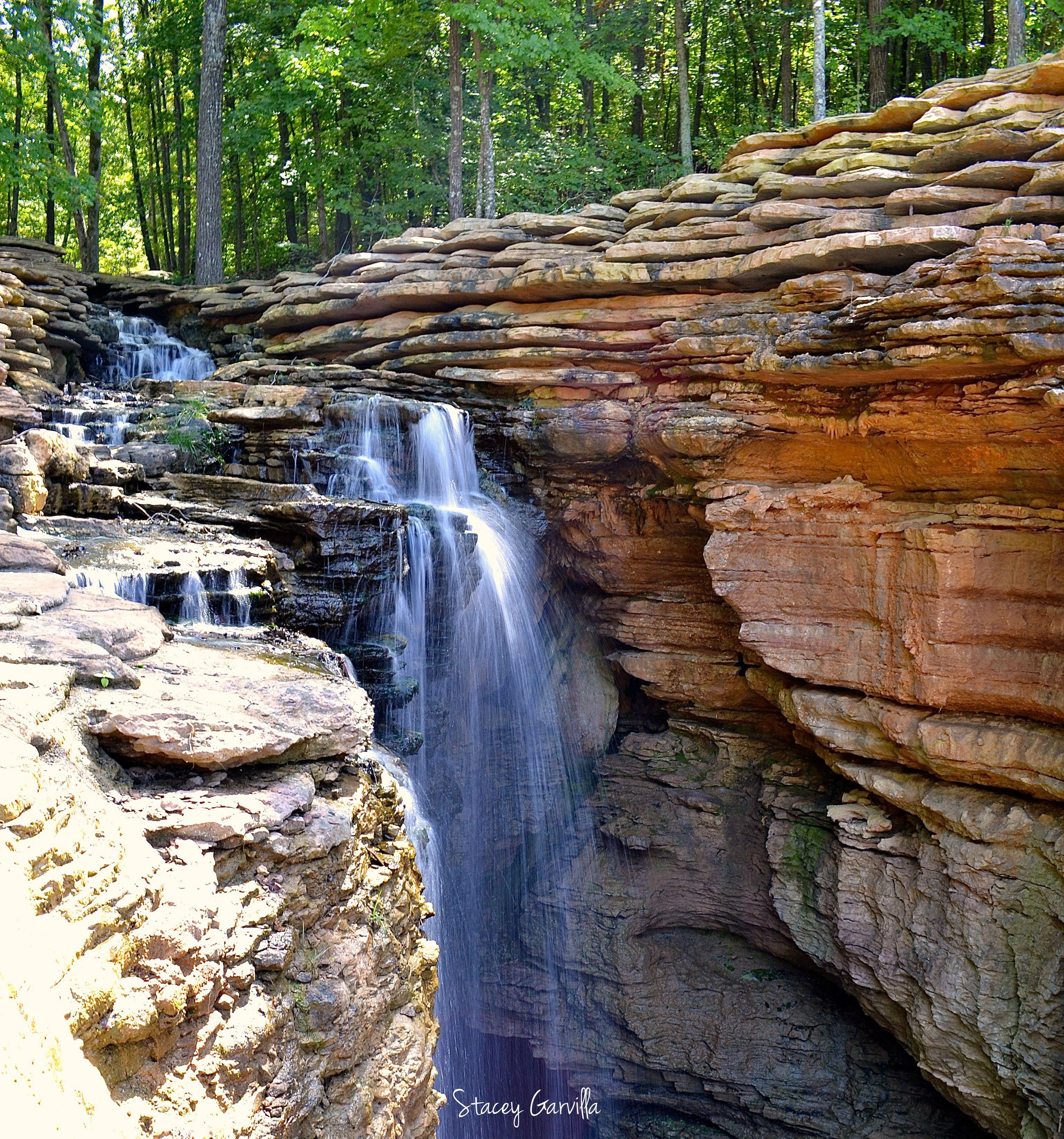 Waterfall Located At Top Of The Rock In Ridgedale Missouri Near Table Rock Lake In Branson Missouri Ozarks September 2016 Ozarks Waterfall Table Rock Lake