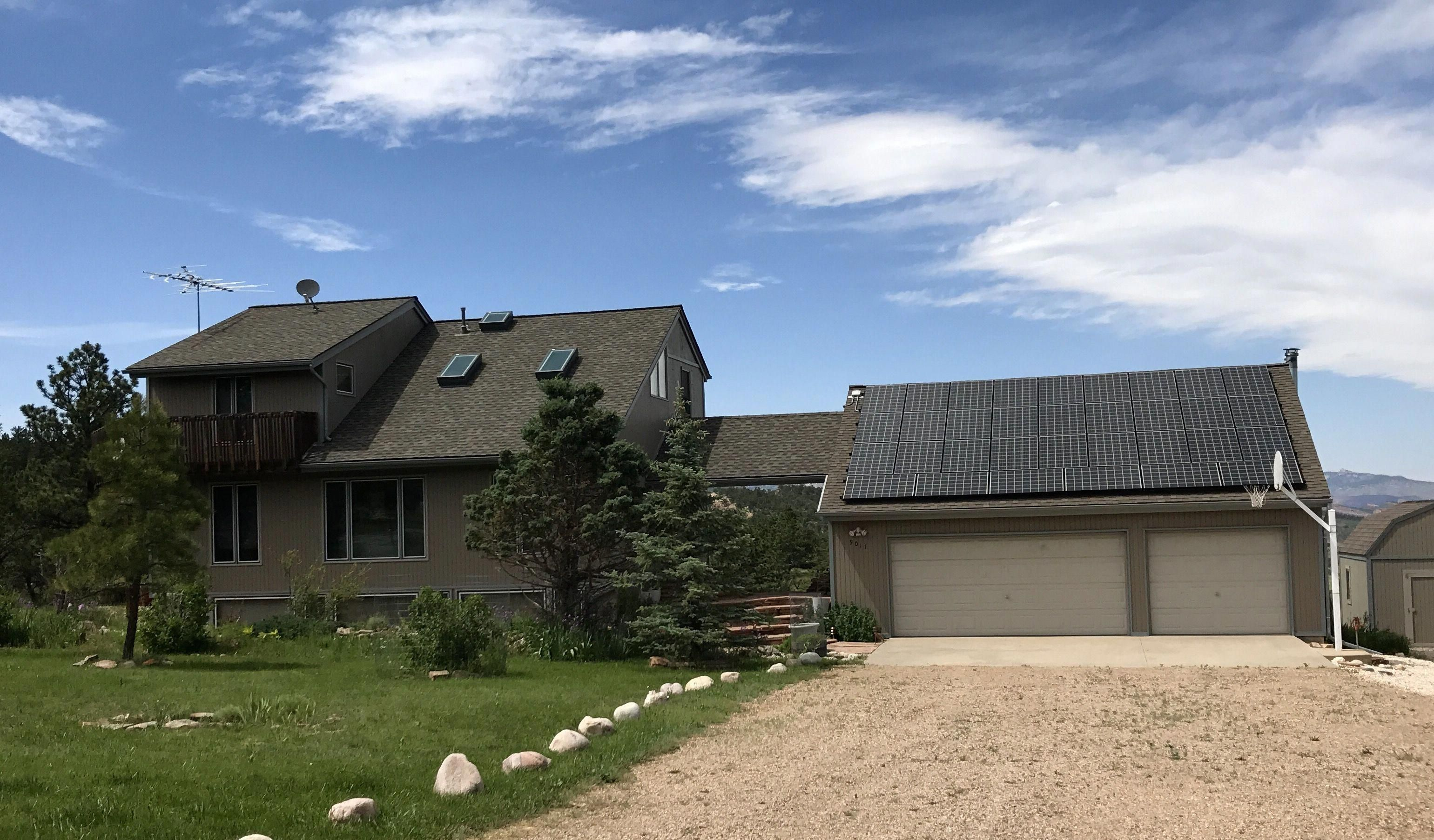 Best This Home In Loveland Up By Carter Lake Is Roofed In 640 x 480