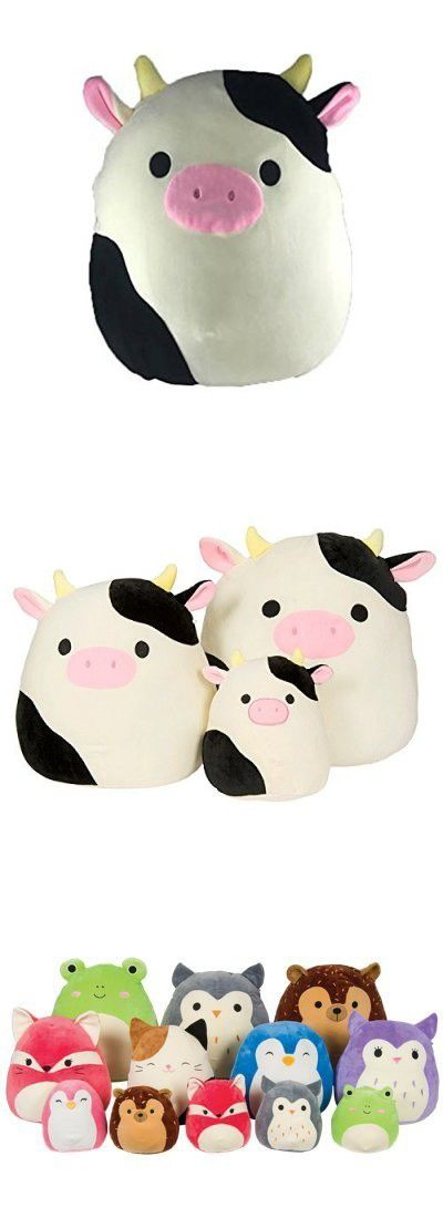 Kellytoy Squishmallow 16 Connor The Cow Super Soft Plush Toy Pillow Pet Animal Pillow Pal Buddy Pal Buddy Animal Pillows Cow Toys Pillow Pals