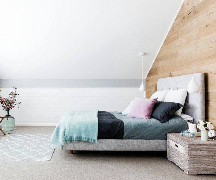 Beautiful Schlafzimmer Dachschrage Feng Shui #11: Feng Shui Schlafzimmer Für Pure Entspannung. Schlafzimmer Dachschräge EntspannungWohnen