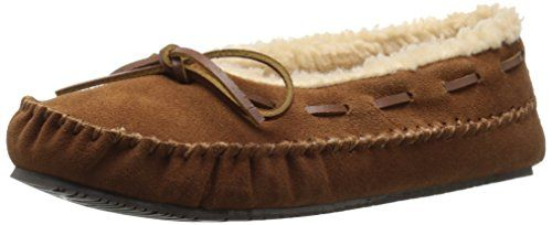 975d12c1204 Staheekum Womens Canoe Moc Fleece Moccasin Wheat 7 M US     Be sure ...