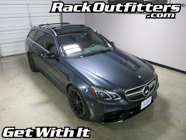 Mercedes Benz E Class Wagon Thule Black Aeroblade Edge Roof Rack 11 15 Roof Rack Benz E Class Mercedes Benz