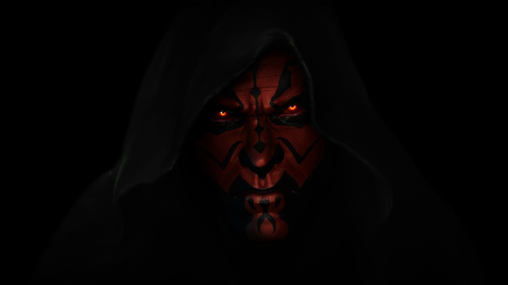 Person Wearing Hood Wallpaper Star Wars Darth Maul A Sith Lord Dark Lord Of The Sith 1080p Wallpaper Hdwallp Hood Wallpapers Darth Maul Wallpaper Darth Maul