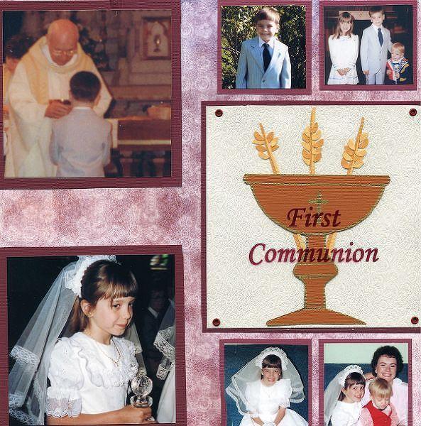 First Communion by DBDMom @2peasinabucket