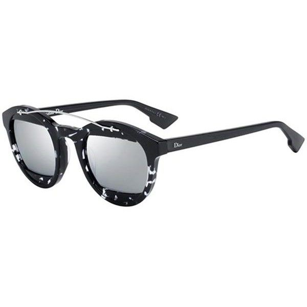 Dior MANIA 1 AB8/DC HAVANA GREY Sunglasses (€275) ❤ liked on Polyvore featuring accessories, eyewear, sunglasses, grey black havana, christian dior sunglasses, christian dior eyewear, grey lens sunglasses, cat eye sunglasses and grey glasses