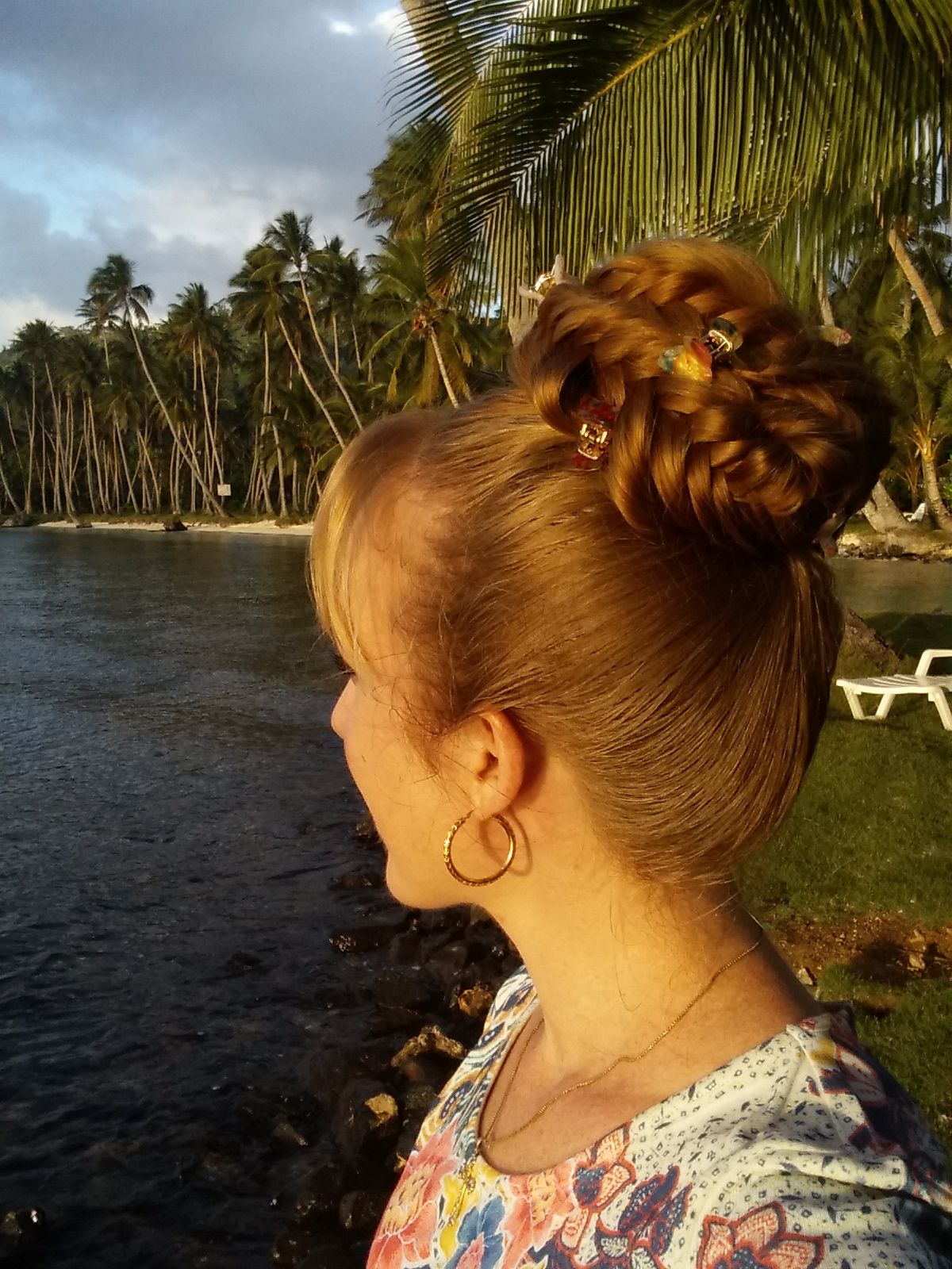 A picture blog of different hairstyles and braids for super long