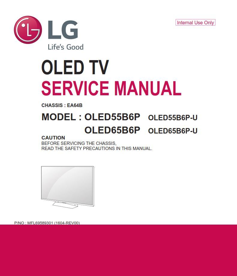 Lg Oled65b6p Oled Tv Service Manual And Repair Guide Tv Services Oled Tv Electronic Circuit Projects