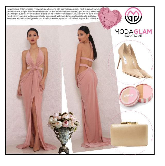 """""""ModaGlam Boutique 9"""" by gaby-mil ❤ liked on Polyvore featuring Jimmy Choo, Kayu, jane, women's clothing, women, female, woman, misses, juniors and modaglamboutique"""