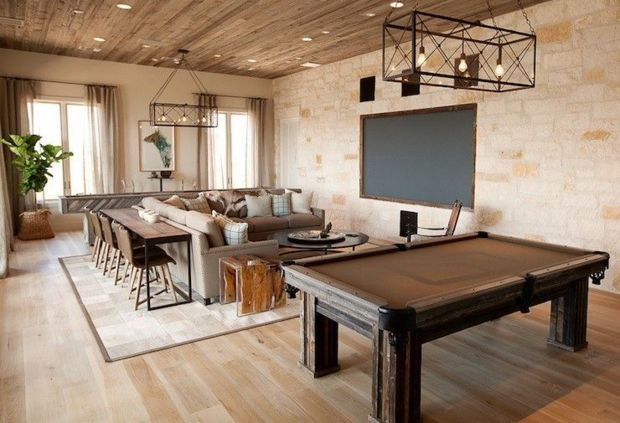 Spare Room Ideas Pool Table Room Game Room Family Game Room Design