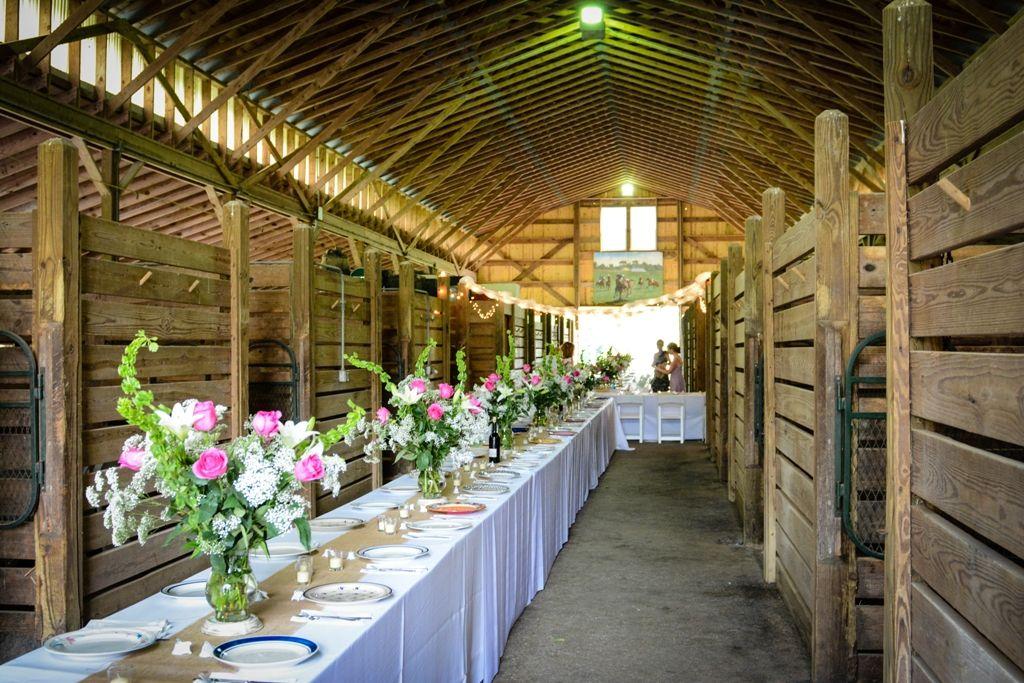 The Polo Barn at Saxony Farm