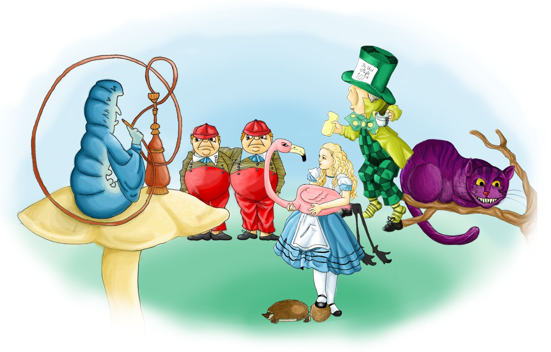 alice in wonderland google doodle | Alice in Wonderland ...