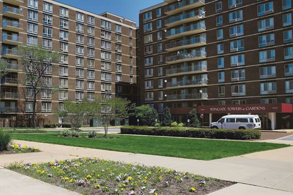 Wingate Apartment Homes In Washington Dc 4660 Martin Luther King