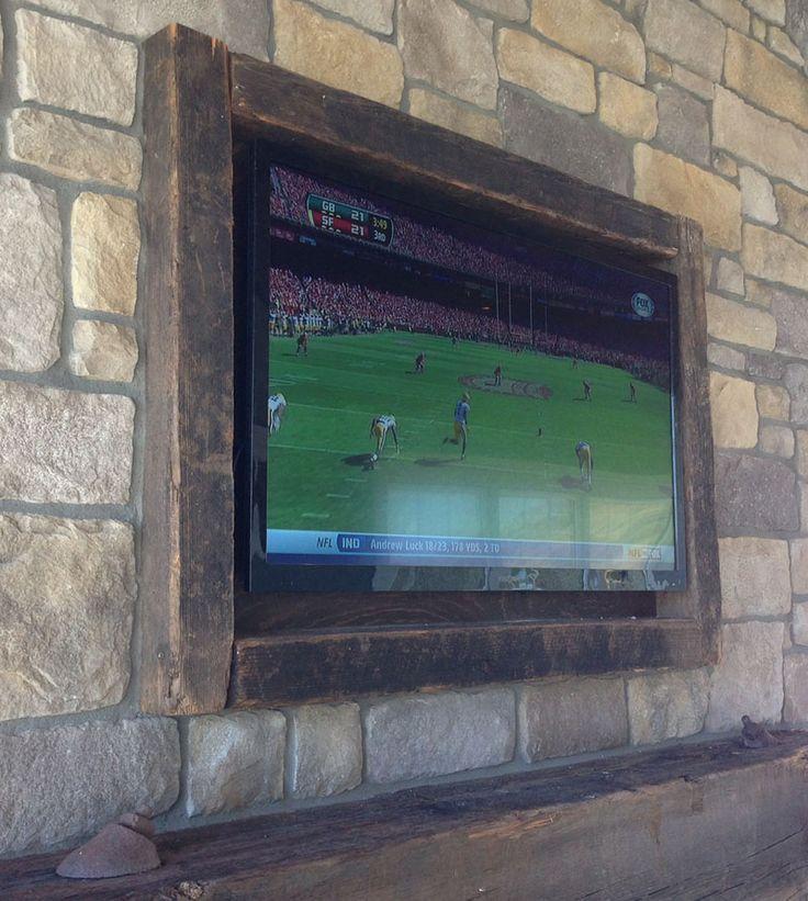 diy wood tv frame