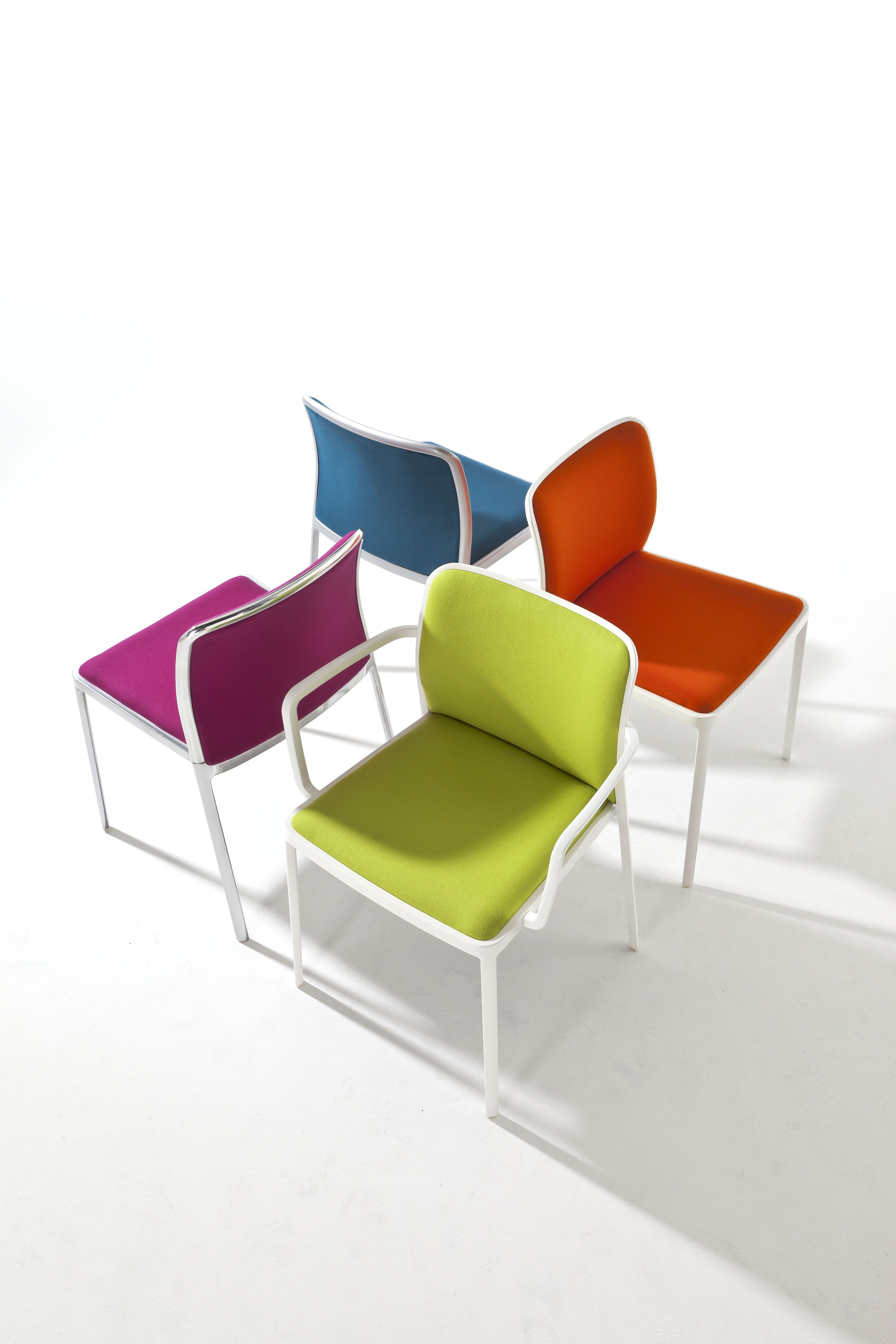 Sedie E Poltroncine Kartell.Piero Lissoni Audrey Soft For Kartell The New Family Of Audrey