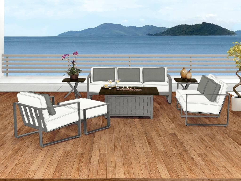 Castelle outdoorpatio park place deep seating collection pride family brands fort lauderdale fl