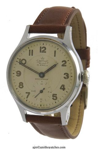 DELUXE SMITHS EVEREST PATTERN A404 NEAREST MODEL AS ADVERTISED TO THE ACTUAL WATCHES USED for EVEREST