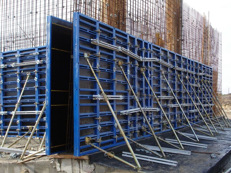 Vertical Formwork For Monolithic Construction Works