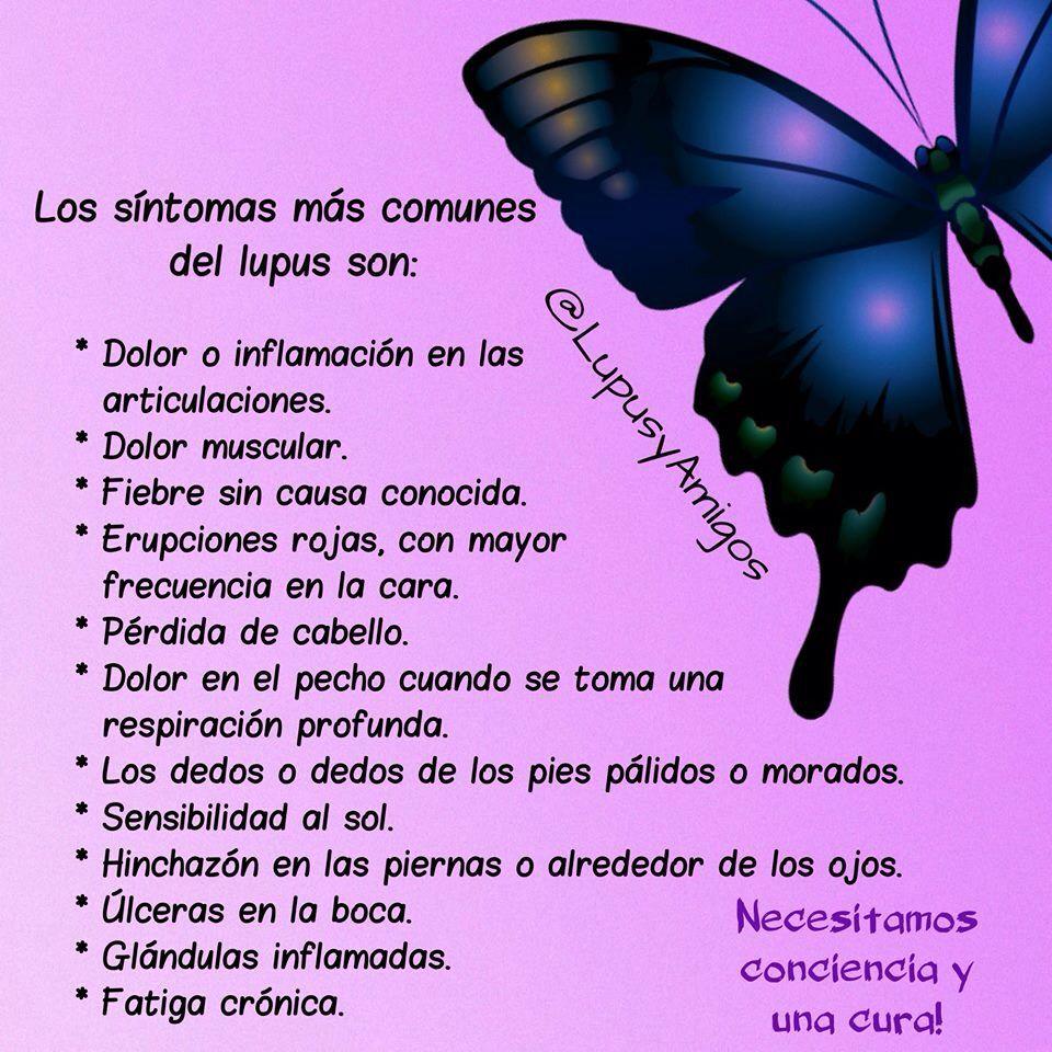 Síntomas comunes del Lupus Conciencia y una Cura