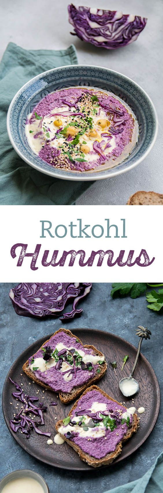 rotkohl hummus rezept vegan paleo and gluten free pinterest hummus kohl und vegan. Black Bedroom Furniture Sets. Home Design Ideas