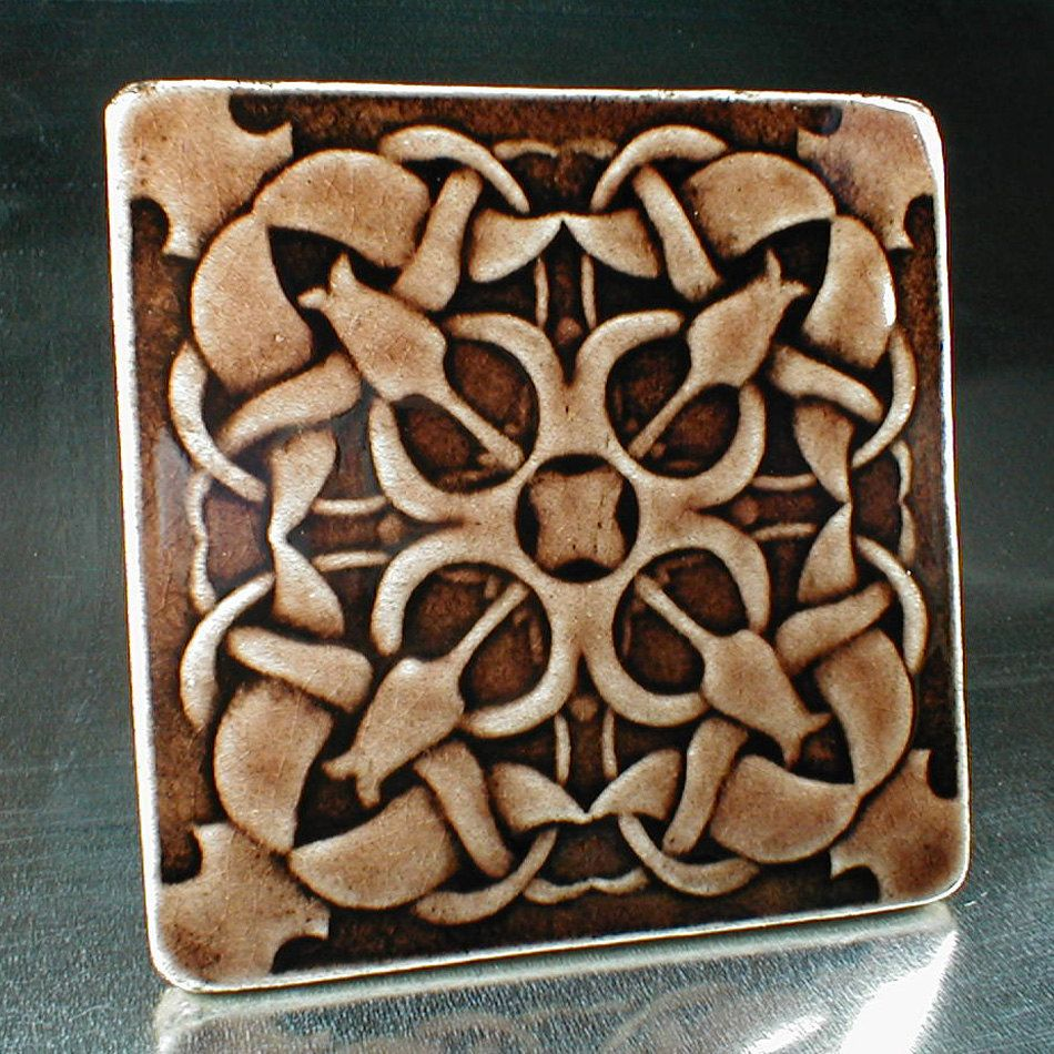 "Decorative Relief Tiles Amusing Wall Tile 6"" X 6"" Ceramic Tile Arts And Crafts Tile Basrelief Review"