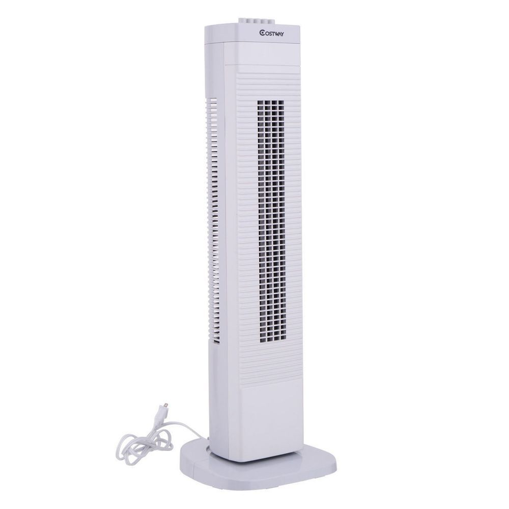 Details About 30 3 Speed Adjustable Portable Oscillating Tower Cooling Fan Air Home Office Tower Fan Room Fan Cool Items