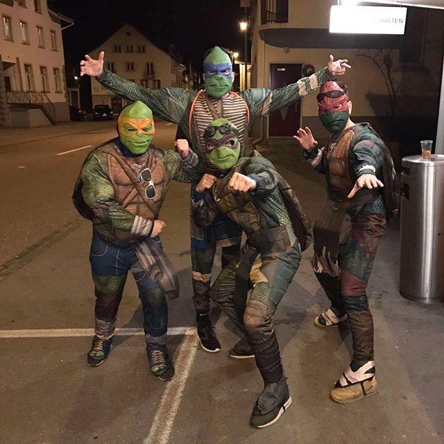 Teenage Mutant Ninja Turtles Kostüm selber machen | Damian ...