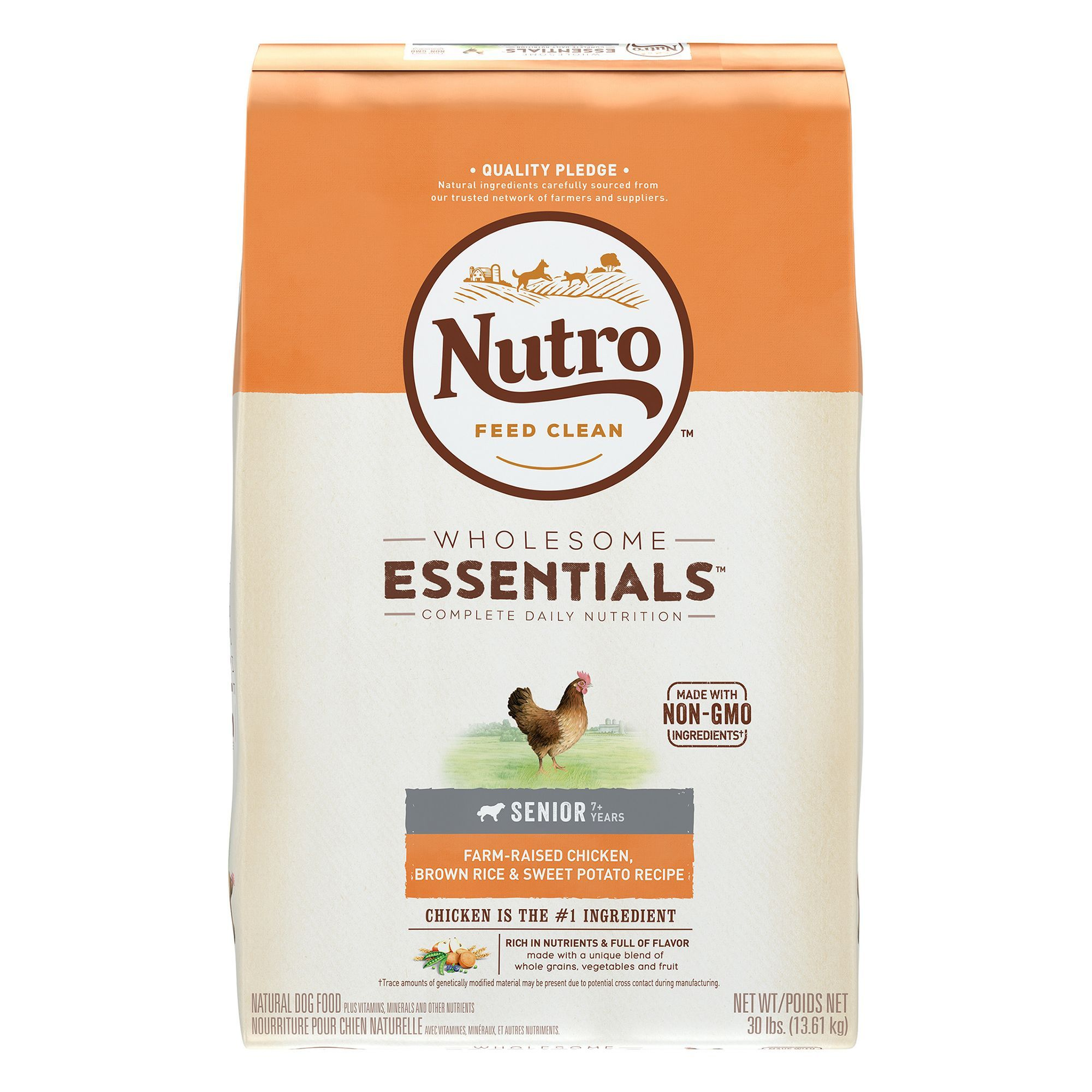 Nutro Wholesome Essentials Senior Dog Food Natural Chicken