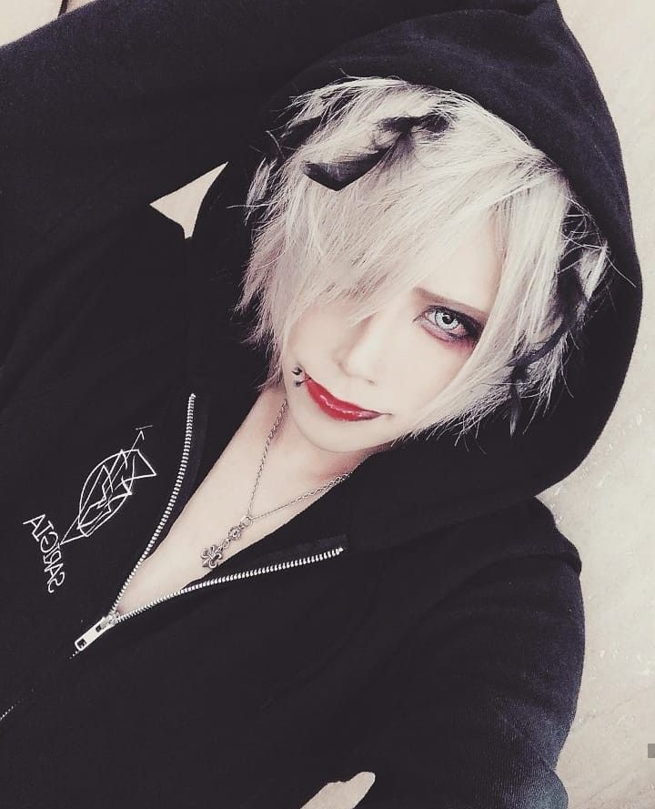 Natsu Sarigia ビジュアル系 メイク ビジュアル系 V系 髪型