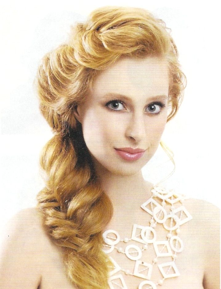 Possible Bridal Hairstyle