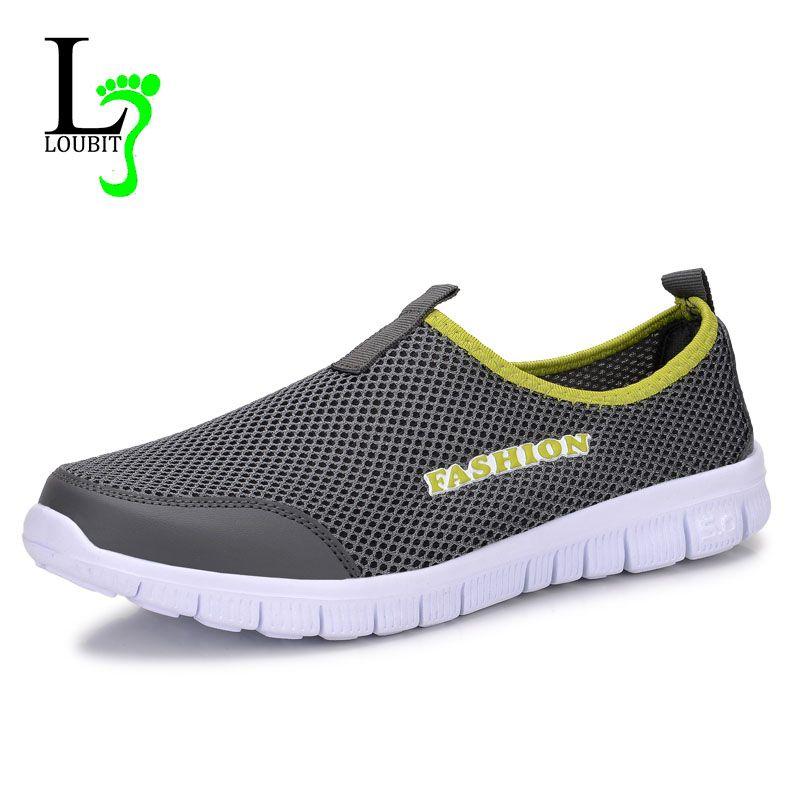 Largesize Men Summer Loafer Shoe Breathable Sandals Water Shoe