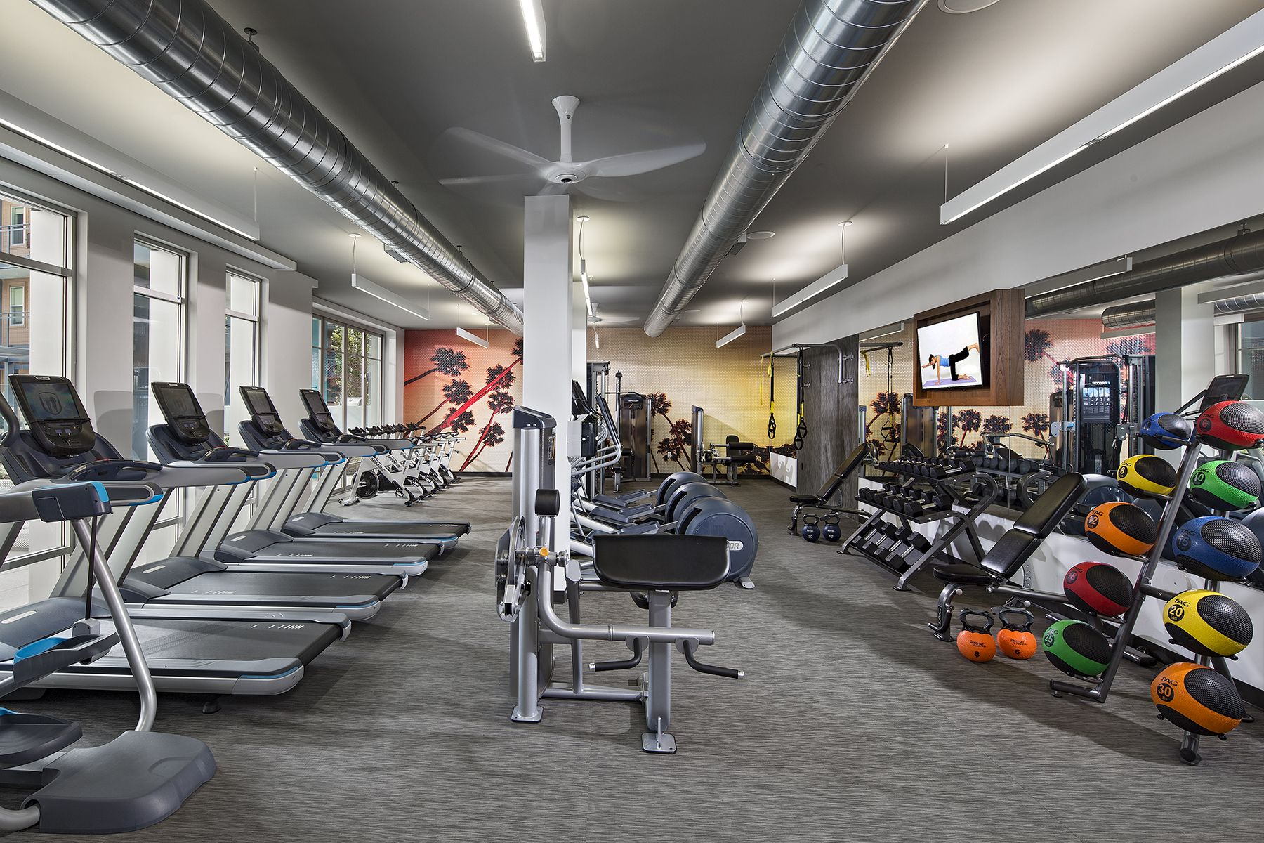 The Fitness Center Is Fully Equipped For Any Workout Routine Looking For Apartments Apartment Uptown