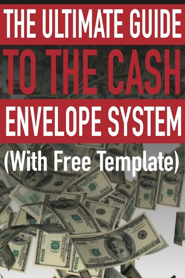 The Ultimate Guide To The Cash Envelope System Budgeting - sample monthly budget template
