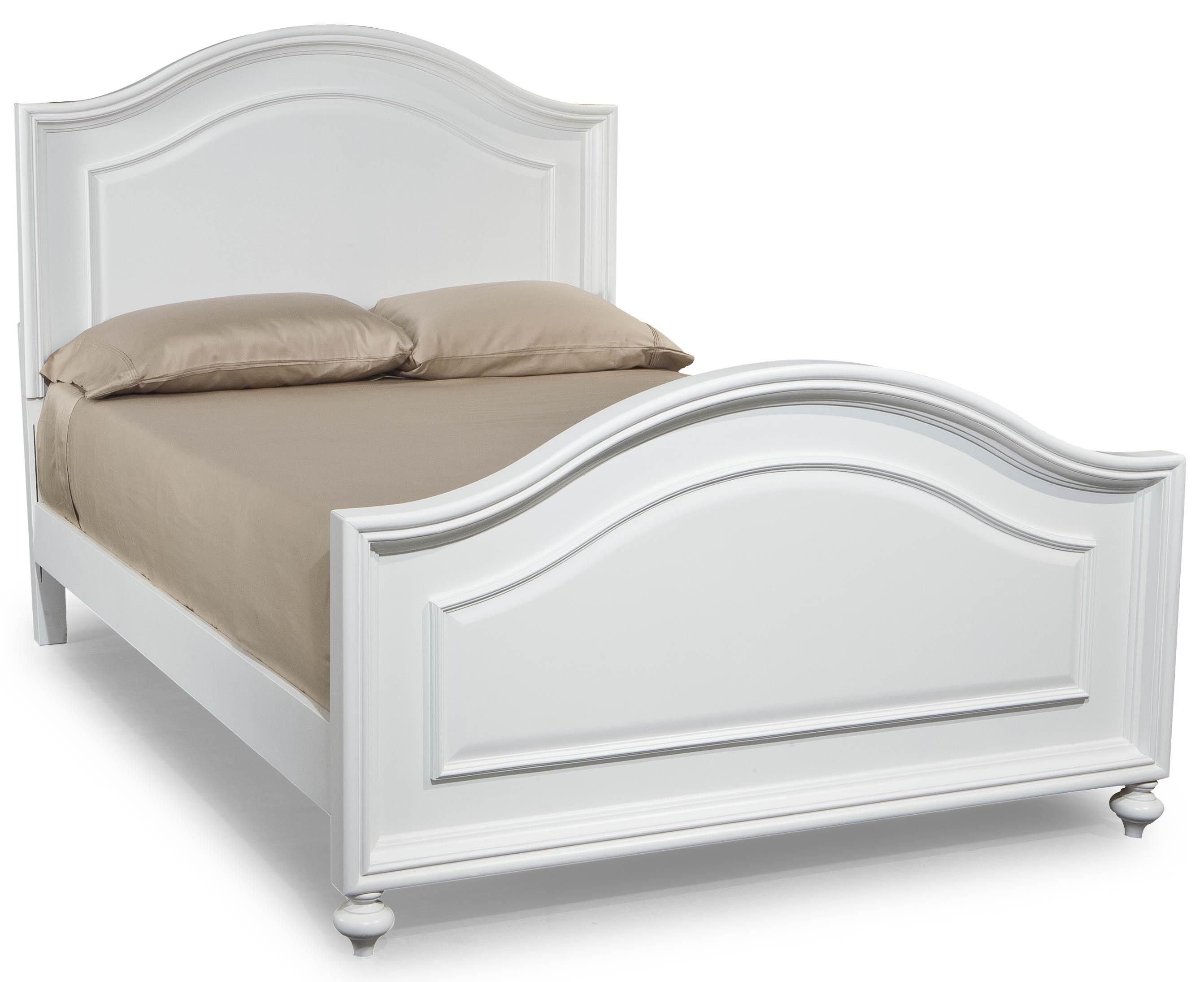 legacy classic kids madison full size arched panel headboard