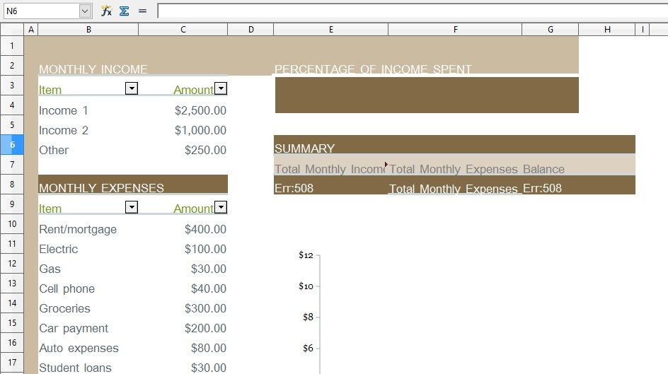 Get Household Monthly Budget Template Xls Excel Xls Templates