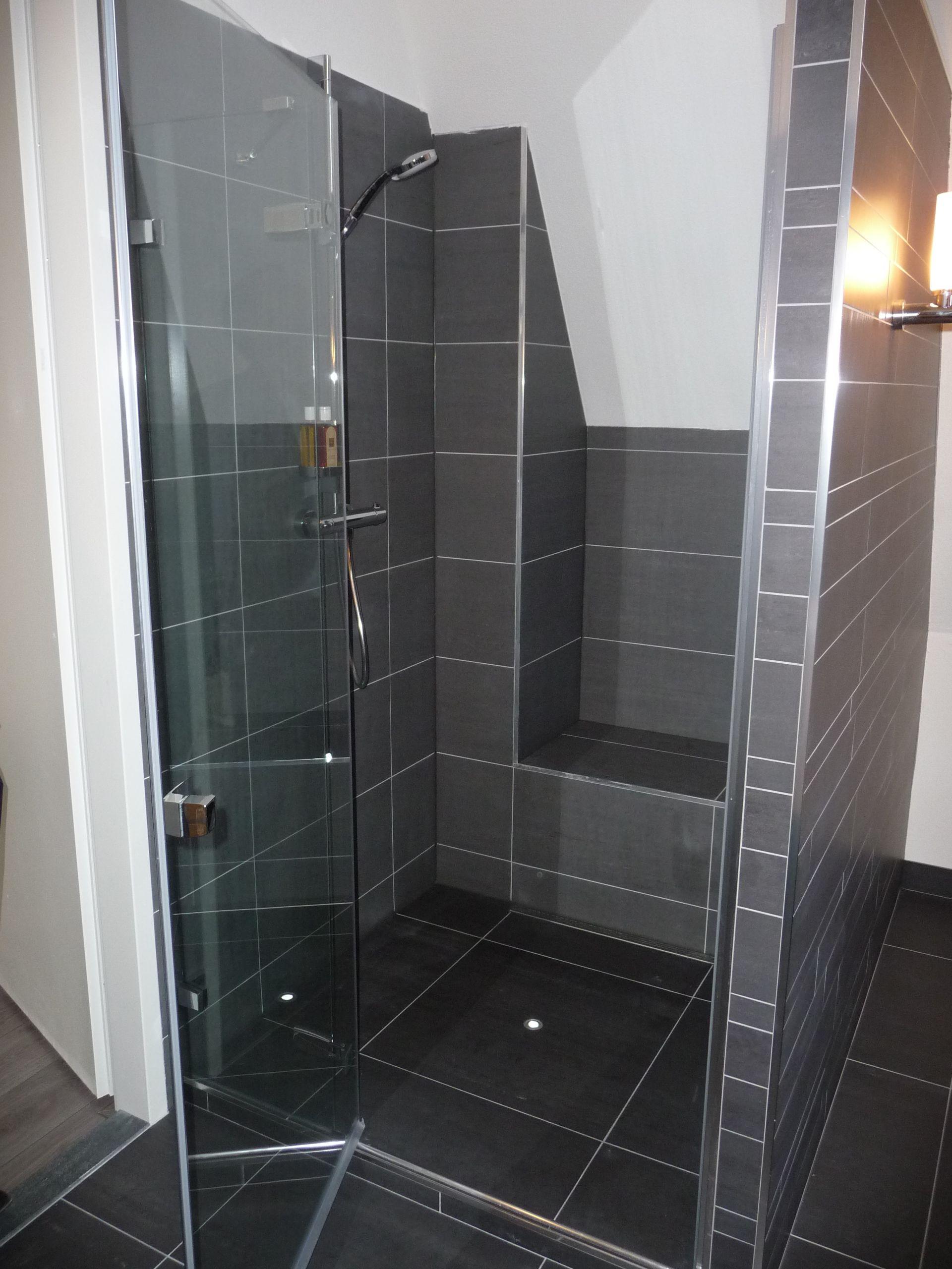 Badkamer 2 4 zitgedeelte in de douche