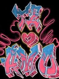 Graffitis De Amor Buscar Con Google Graffitis De Amor Graffitis Dibujos