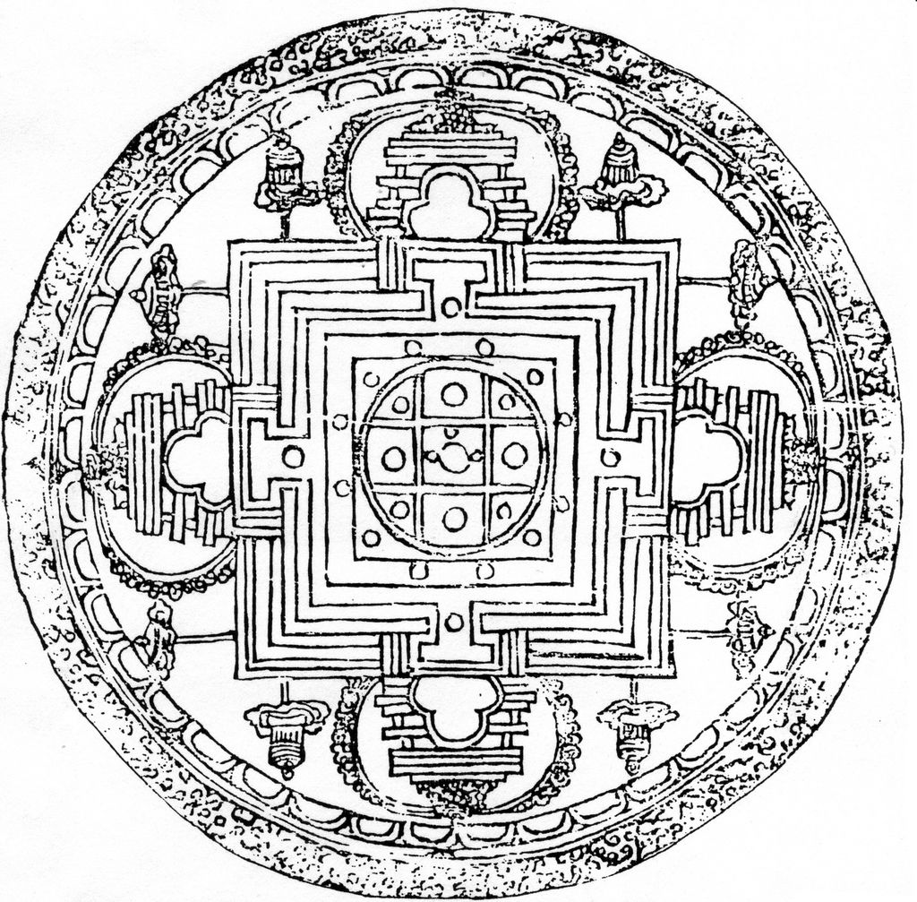Buddhist Mandala Google Search Mandalas Pinterest Buddhist Mandala Coloring Pages