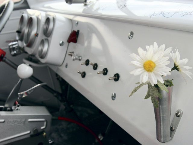 1962 Vw Bus Interior With Flower Vase Love My Beetle Flower